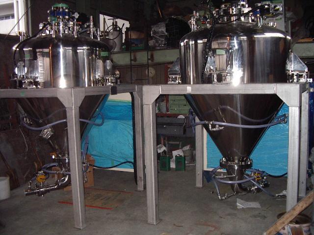第二種圧力容器(内外面バフ仕上)